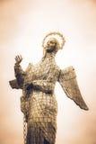 Quito för Virgen del Panecillo statyFN, Ecuador Royaltyfri Bild
