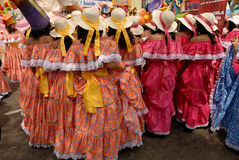 Quito Festivities' parade Stock Image