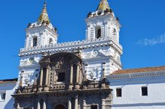 Quito Historic Center Royalty Free Stock Photography