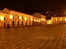 Quito-historische Piazza Lizenzfreie Stockfotos