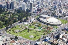 Quito hus av ecuadoriansk kultur arkivfoto