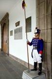 Quito i Ecuador - presidents- slott arkivbilder
