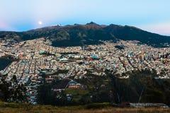 Quito, kapitał Ekwador obrazy royalty free