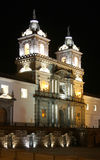 Quito at night Stock Photography