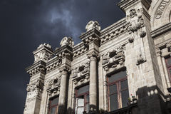 Quito - old town - colonial architecture detail. Stock Photos