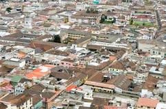 Quito. Oldtown of Quito, capital of Ecuador stock image