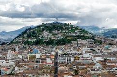 Quito. Oldtown of Quito, capital of Ecuador royalty free stock photos