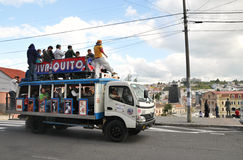 Quito Party Bus Stock Images