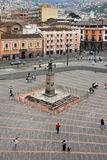 Quito - Plaza San Francisco - Ecuador Stock Images