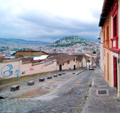 Quito Streets Royalty Free Stock Photo