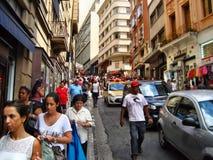 Quitostad Arkivfoto