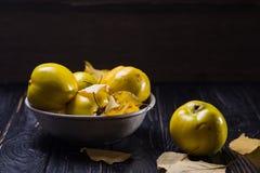 Quitte ist Herbstfrüchte Lizenzfreies Stockbild