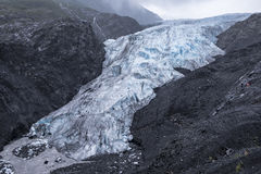 Quittez le glacier Photo stock