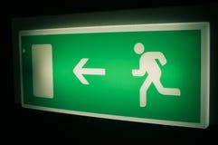 Quittez le signe Image libre de droits