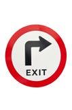 Quittez le signe Photo libre de droits