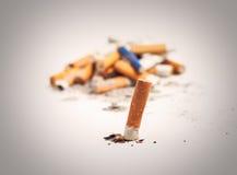Quitting smoking Royalty Free Stock Photos