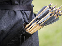 Quiver and arrows Stock Photography
