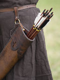 Quiver and arrows Stock Photos