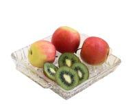Quivi e maçãs. Foto de Stock Royalty Free