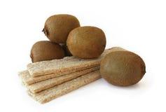 Quivi e pão dietético Fotografia de Stock Royalty Free
