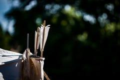 Quivver стрелок Стоковая Фотография