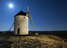 Quixote windmill. Don Quixote wndmill in castilla, Spain, is a touristic visit very famous in Spain Royalty Free Stock Photo