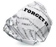Quizás es mejor lanzar Imágenes de archivo libres de regalías