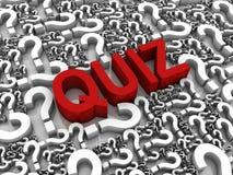 Quiz Immagini Stock