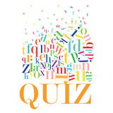 Quiz. An abstract illustration of Quiz Royalty Free Stock Images