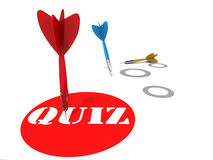 Quiz Stock Image