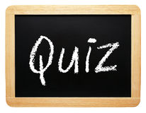 Quiz sign Royalty Free Stock Image