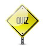 Quiz signpost illustration design Royalty Free Stock Photography