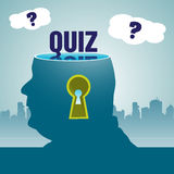 Quiz theme Royalty Free Stock Images