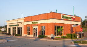 Quiznos And Starbucks Storefront Royalty Free Stock Photo