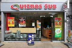 Quiznos Sub Royalty Free Stock Image