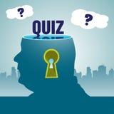 Quizu temat Obrazy Royalty Free