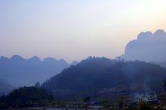 Qujing Shizong Wulong Zhuang. Eastphoto, tukuchina,  Qujing Shizong Wulong Zhuang Royalty Free Stock Image