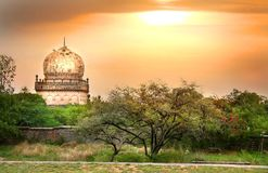 Quli Qutb Shahi Tombs Royalty Free Stock Photography