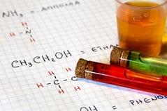 Química Imagen de archivo
