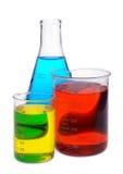 Química del color Foto de archivo libre de regalías