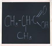 Química orgánica Fotos de archivo libres de regalías