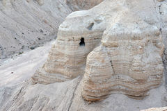 Qumran Caves Royalty Free Stock Photo