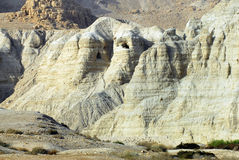 Qumran Caves. The caves of Qumran, located on the edge of the Dead Sea in Israel Royalty Free Stock Photography