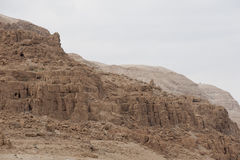 Qumran caves in Israel Royalty Free Stock Photography