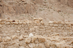 Qumran caves Royalty Free Stock Image