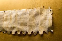 Free Qumran Caves Scrolls In Israel Stock Photography - 115833282