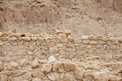 Qumran-Höhlen lizenzfreies stockbild
