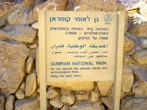 Qumran, Israel Stock Photography