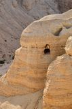 Qumran jama (Nieżywego morza ślimacznicy) Obraz Stock