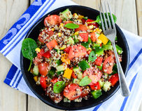 Qunioa salad Stock Photos